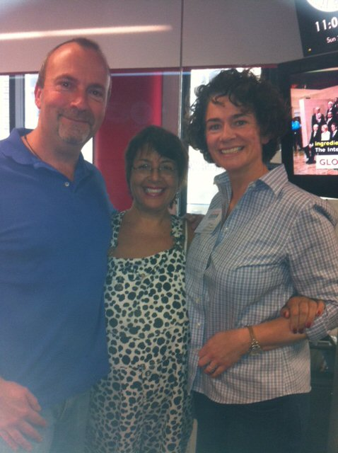 Trevor and Bex on the Jeni Barnett show