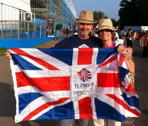 Trevor and Bex Union Flag