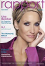 Lisa Butcher in Rapport Magazine